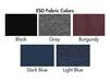 BENCHPRO™ INDUSTRIAL SEATING - WITH ESD FABRIC UPHOLSTERY
