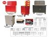 "ACCESSORIES FOR 24"" AND 48"" MODULAR MOBILE CABINET WORKCENTER BASE UNITS"
